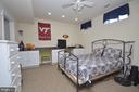 Lower Level Bedroom #5 - 11829 CLARKS MOUNTAIN RD, BRISTOW