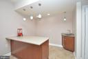 Wet Bar in Game Room - 11829 CLARKS MOUNTAIN RD, BRISTOW