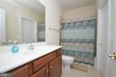 Full Bath #4 in Lower Level - 11829 CLARKS MOUNTAIN RD, BRISTOW