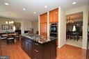Kitchen w/Upgraded Appliances - 11829 CLARKS MOUNTAIN RD, BRISTOW