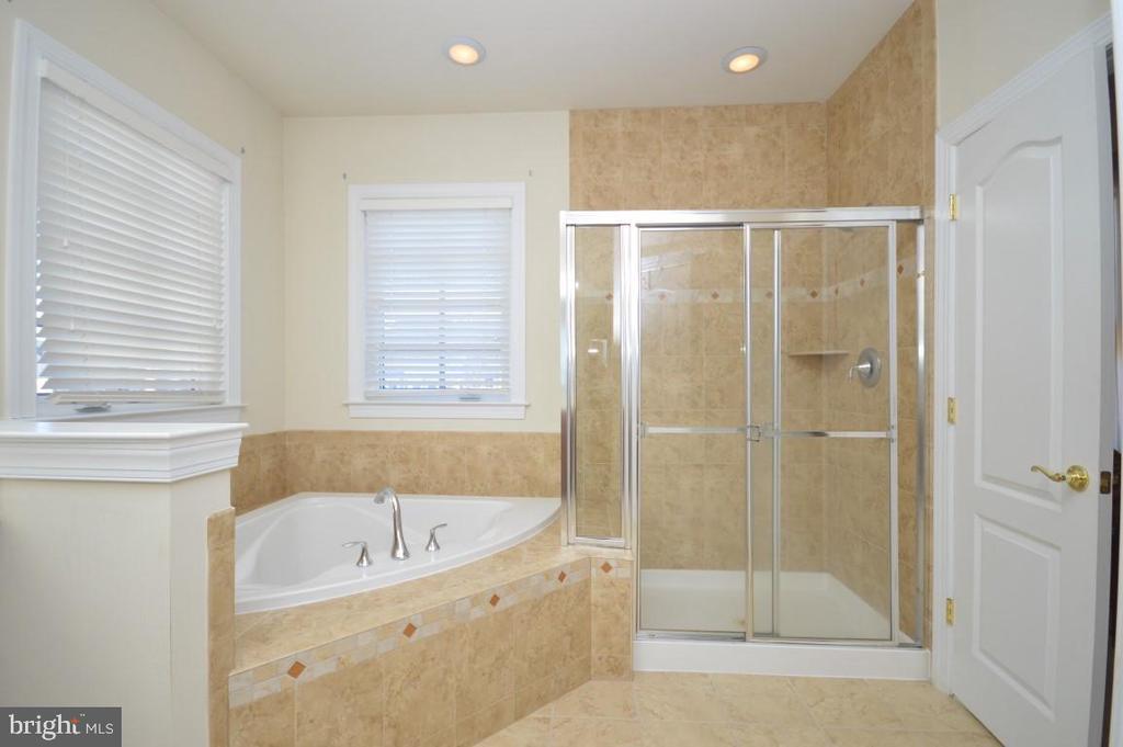 Owners Bath w/Sep Tub & Shower - 11829 CLARKS MOUNTAIN RD, BRISTOW