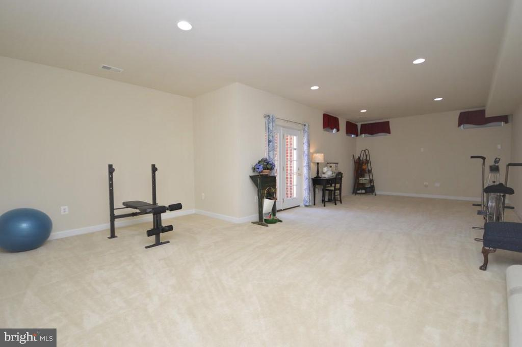 Enormous Rec Room in Walk-Up LL - 11829 CLARKS MOUNTAIN RD, BRISTOW