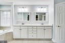 Master Bathroom - 1643 WHITE PINE DR, VIENNA