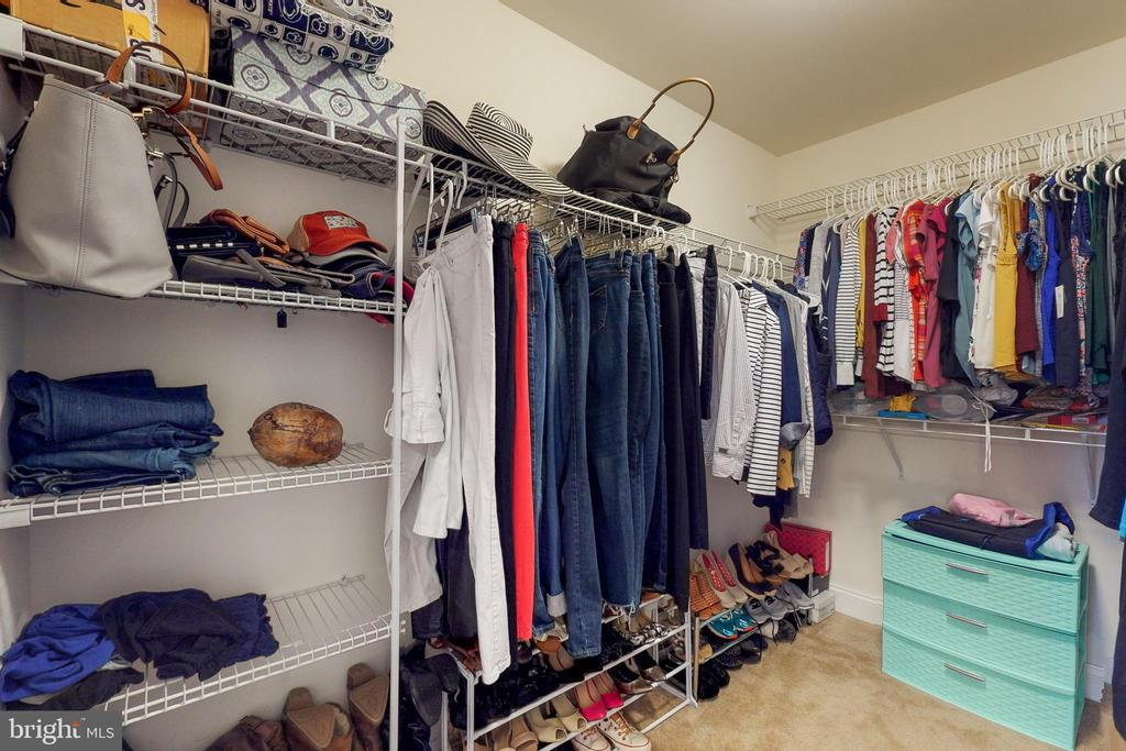 Master closet 2 - 25875 SYCAMORE GROVE PL, ALDIE