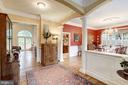 Vista to the backyard &  into the dining room. - 3013 N DICKERSON ST, ARLINGTON