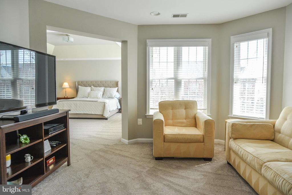 Sitting Area in Master Suite - 42547 GOOD HOPE LN, BRAMBLETON