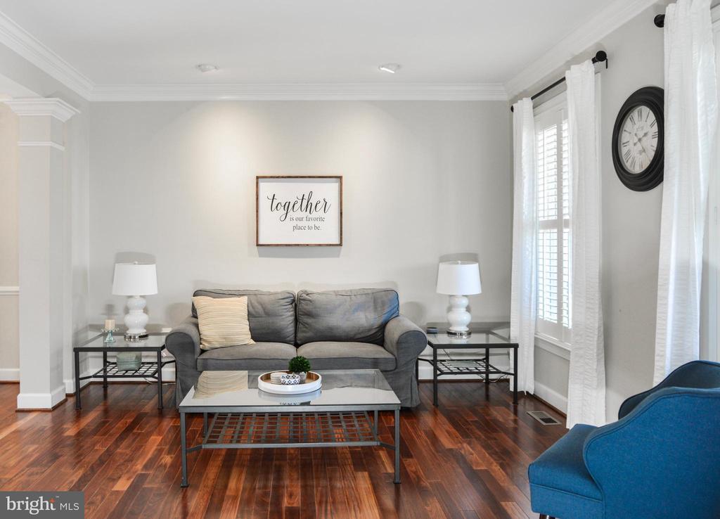 Living Room - 42547 GOOD HOPE LN, BRAMBLETON