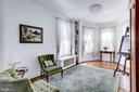 Charming third bedroom with lots of natural light - 221 N ST ASAPH ST, ALEXANDRIA