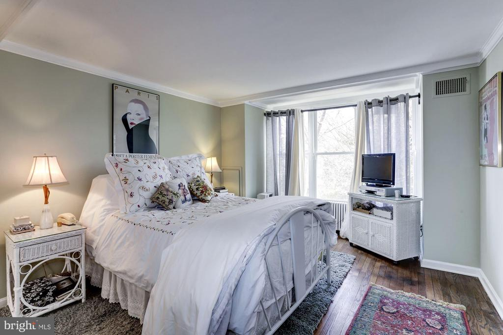 Spacious master bedroom - 221 N ST ASAPH ST, ALEXANDRIA