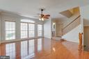 Look at those fllors! - 9331 HUNDITH HILL CT, LORTON