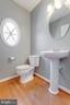 main level powder room - 9331 HUNDITH HILL CT, LORTON