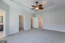 Dual walk-in  closets - 9331 HUNDITH HILL CT, LORTON