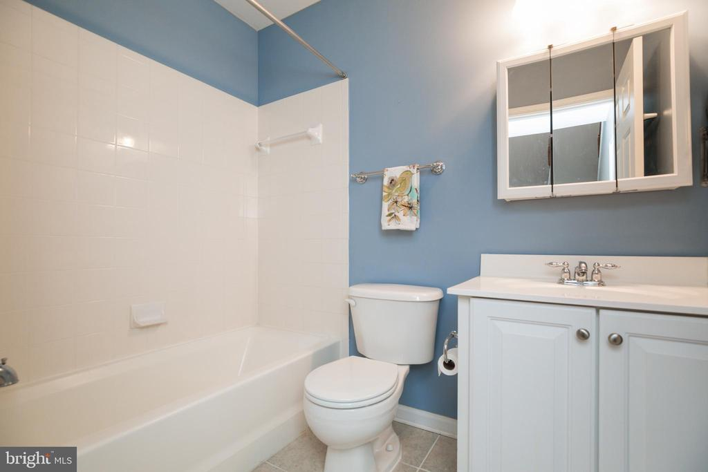 Full bath on lower level - 9331 HUNDITH HILL CT, LORTON