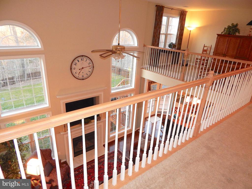 Another view 2 of loft and railing - 81 BRUSH EVERARD CT, STAFFORD