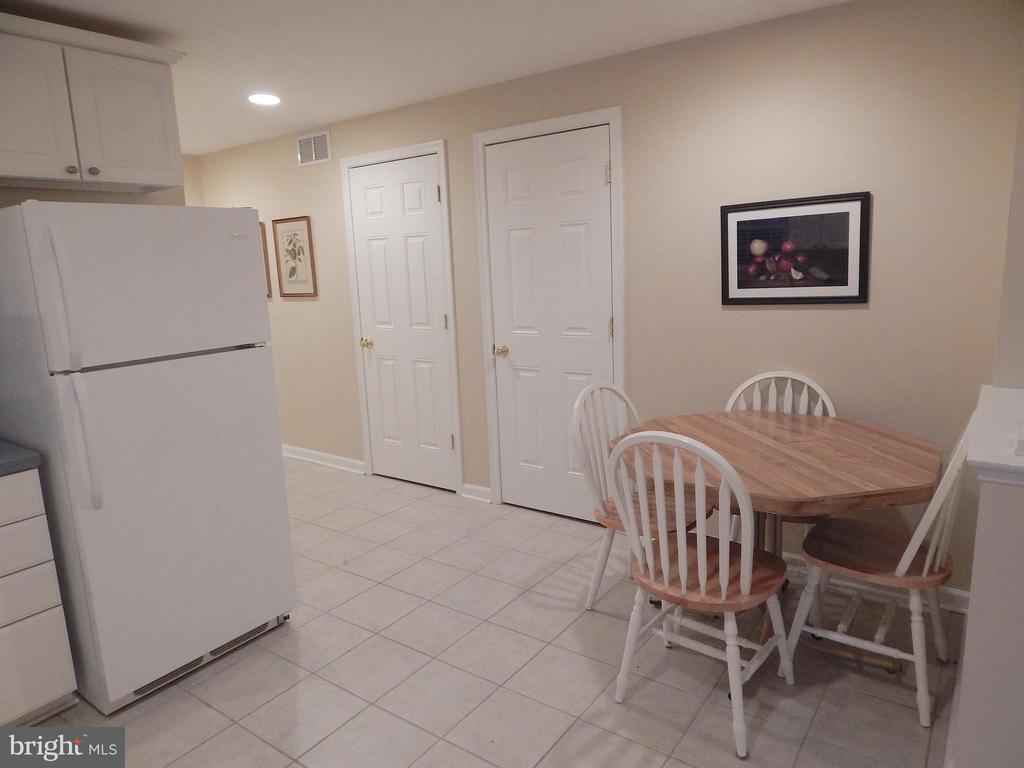 Basement kitchenette view 2, walk-in storage areas - 81 BRUSH EVERARD CT, STAFFORD