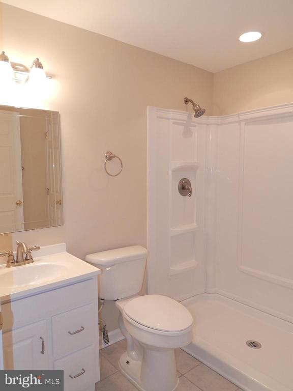 Basement full bath - 81 BRUSH EVERARD CT, STAFFORD