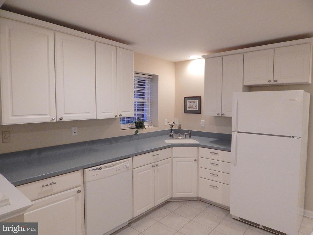 Basement kitchenette w/Corian-type counters - 81 BRUSH EVERARD CT, STAFFORD