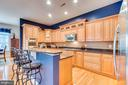 Gourmet Kitchen with high end cabinetry - 22418 DINAH PL, LEESBURG