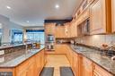 Granite and Stainless Steel Appliances - 22418 DINAH PL, LEESBURG