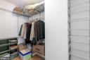 Master bedroom has a large walk-in closet - 2311 PIMMIT DR #213, FALLS CHURCH