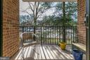 Peaceful relaxing balcony - 2311 PIMMIT DR #213, FALLS CHURCH
