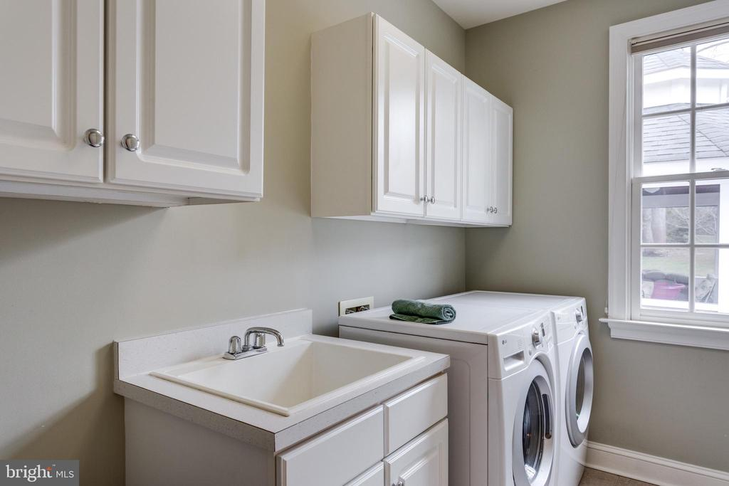 Laundry Room on Main Level. - 2565 YONDER HILLS WAY, OAKTON