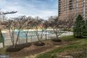 Large outdoor community pool - 2311 PIMMIT DR #213, FALLS CHURCH