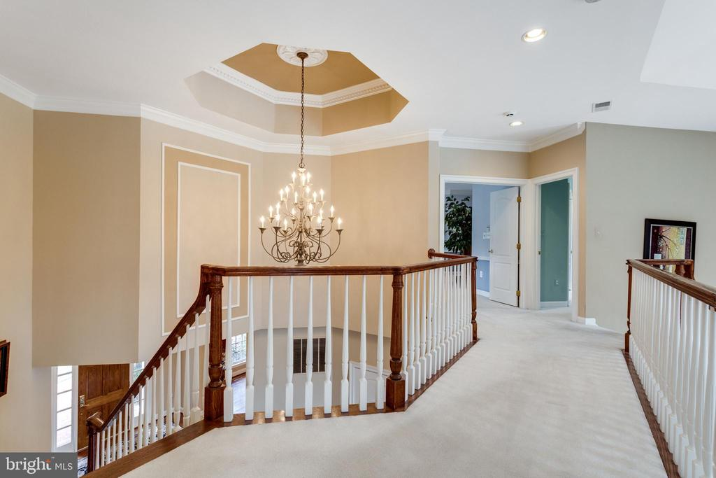 Upper Level Landing Overlooks Foyer & Great Room. - 2565 YONDER HILLS WAY, OAKTON