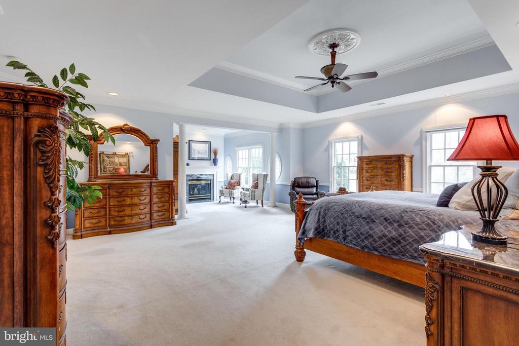 View of Master Suite. - 2565 YONDER HILLS WAY, OAKTON