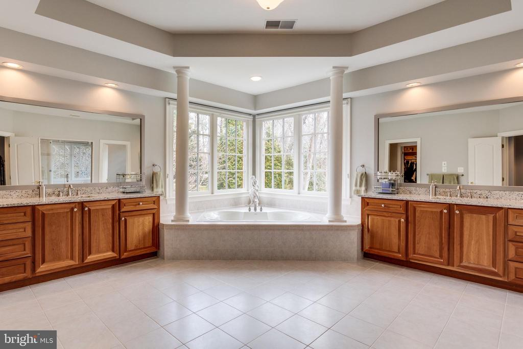 Jetted Tub Surrounded by Windows. - 2565 YONDER HILLS WAY, OAKTON