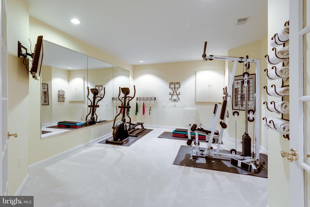 Exercise Room. - 2565 YONDER HILLS WAY, OAKTON