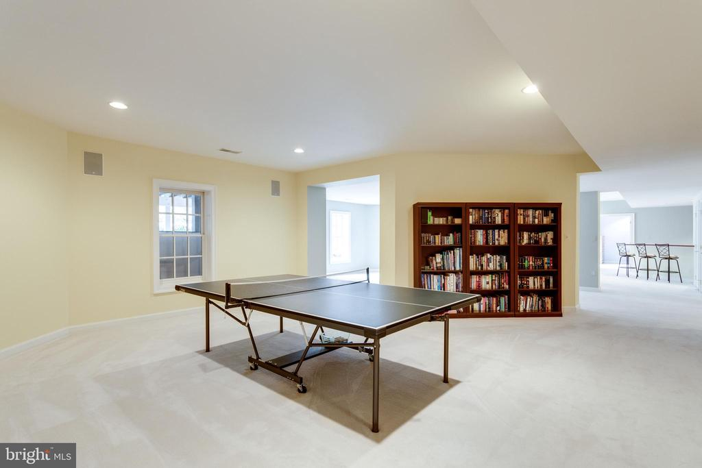 Game Room. - 2565 YONDER HILLS WAY, OAKTON