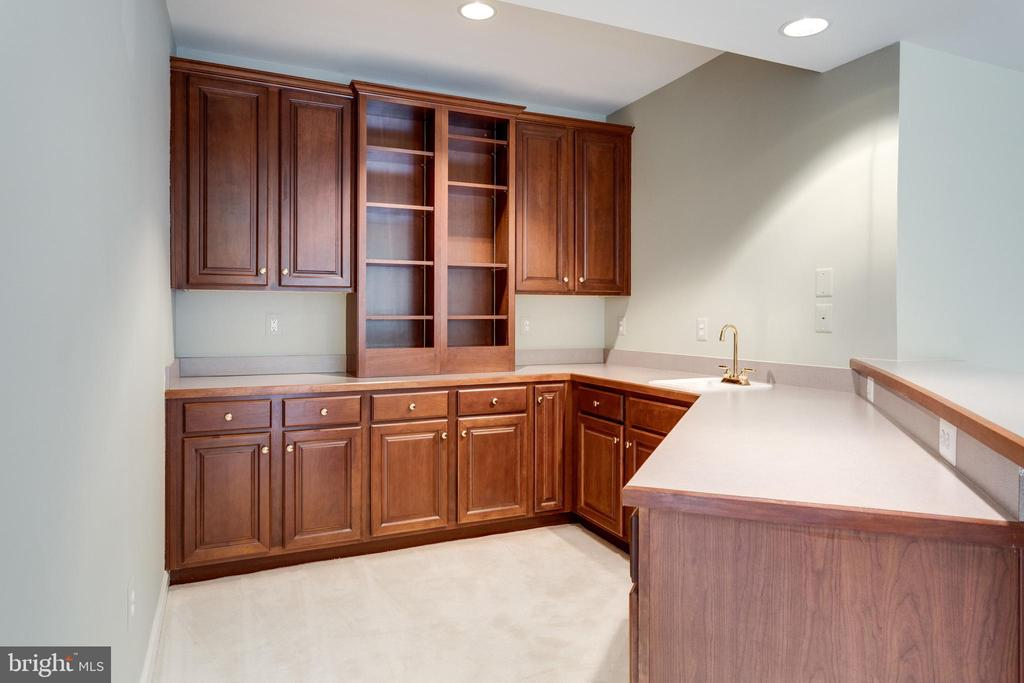 Grab a Beverage... then out to  Stone Terrrace. - 2565 YONDER HILLS WAY, OAKTON