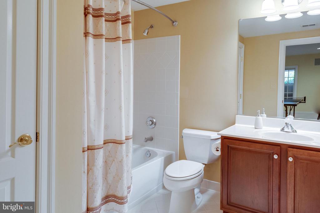 Full Bath on Lower Level. - 2565 YONDER HILLS WAY, OAKTON