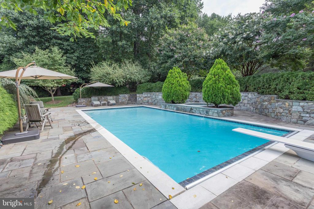 Relax or Entertain in Style Poolside. - 2565 YONDER HILLS WAY, OAKTON
