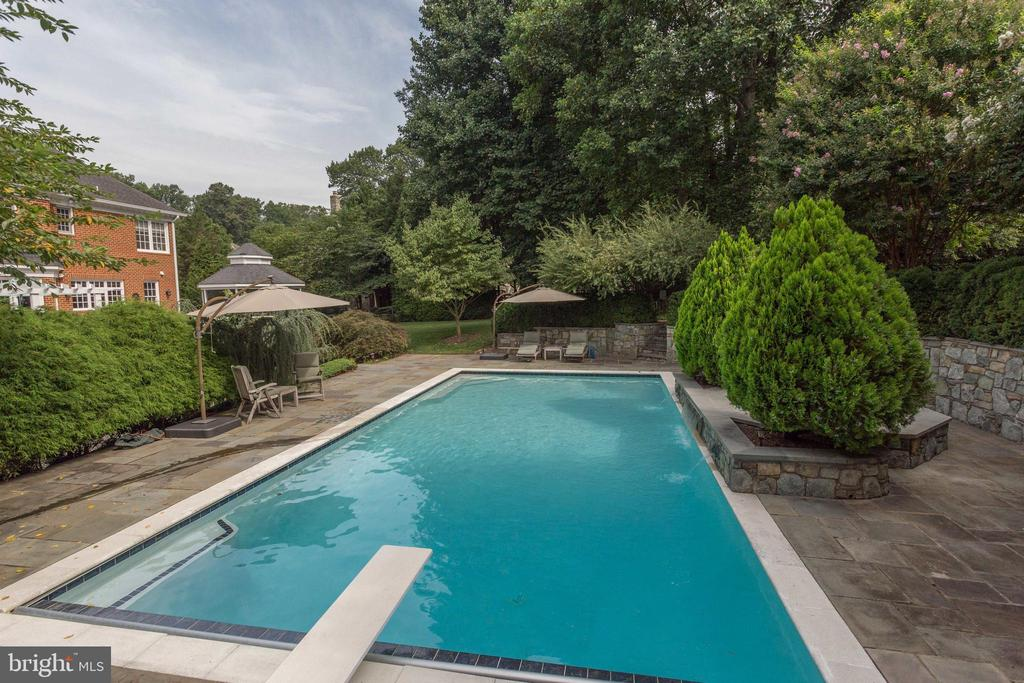 Resort-style Living! Heated Pool, Waterfall & Spa. - 2565 YONDER HILLS WAY, OAKTON