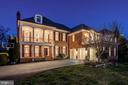 Front Exterior - Night - 43230 PARKERS RIDGE DR, LEESBURG