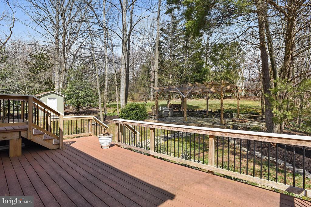 Deck views - 3103 PINE OAKS WAY, OAK HILL