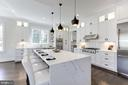 White Quartz Countertops - 6834 CHURCHILL RD, MCLEAN