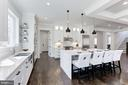 Gourmet Kitchen - 6834 CHURCHILL RD, MCLEAN