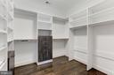 2 of 2 Master Suite Closets - 6834 CHURCHILL RD, MCLEAN