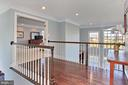 Second Level overlooking family room and entrance - 19817 BETHPAGE CT, ASHBURN