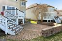 Expansive Deck and Brick patio - 19817 BETHPAGE CT, ASHBURN