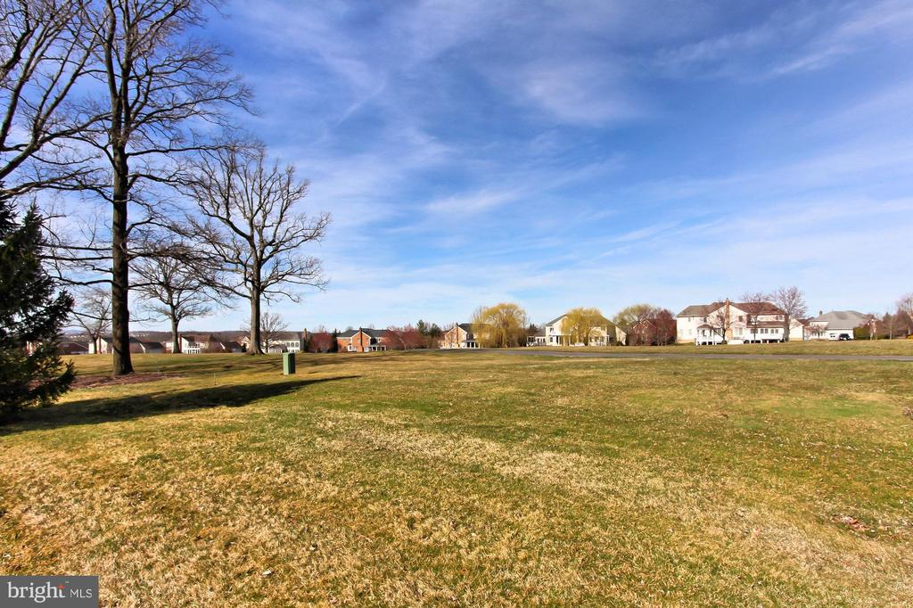 Property backs directly to golf course - 19817 BETHPAGE CT, ASHBURN