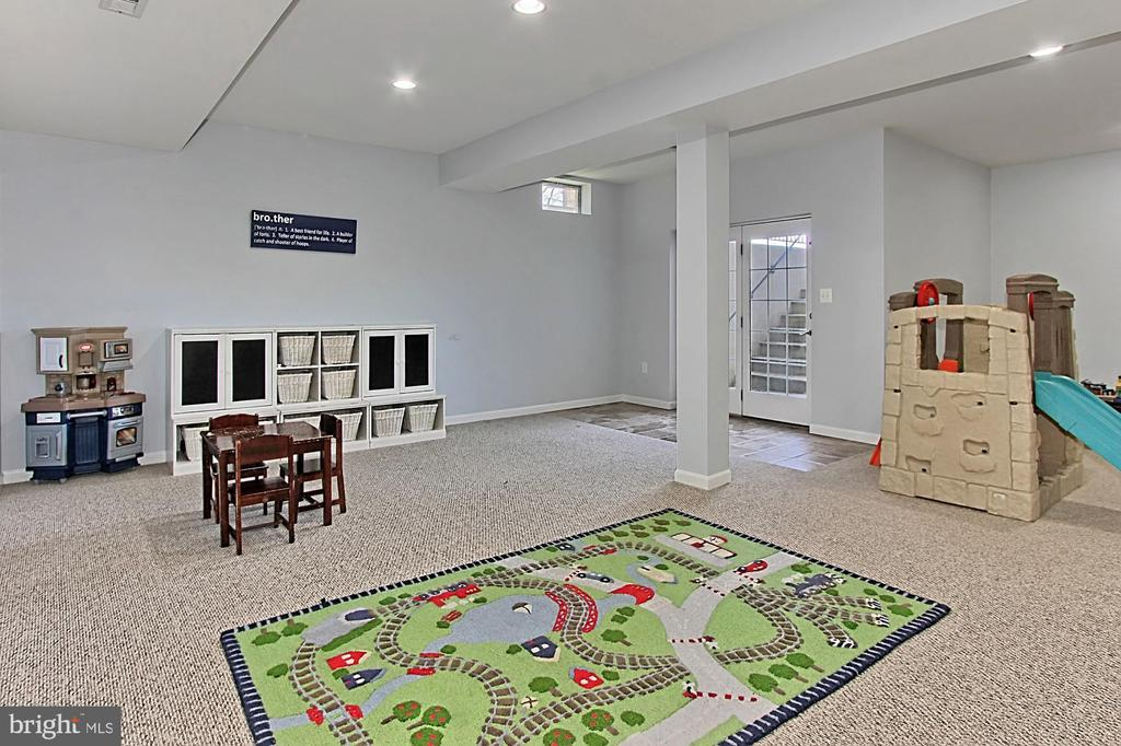 Lower Level Rec Room - 19817 BETHPAGE CT, ASHBURN