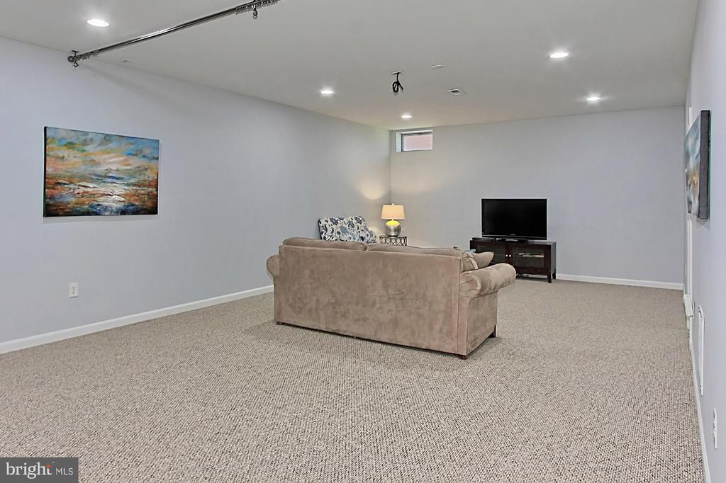Lower Level Media Room - 19817 BETHPAGE CT, ASHBURN