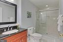 Lower Level Full bath - 19817 BETHPAGE CT, ASHBURN