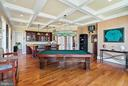 Game Room/ Billiard Room with full bar - 21051 ST LOUIS RD, MIDDLEBURG