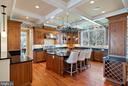 Kitchen made for entertaining and serious cooking - 21051 ST LOUIS RD, MIDDLEBURG