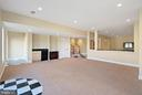 Lower level walk out with add'l entertaining room - 21051 ST LOUIS RD, MIDDLEBURG